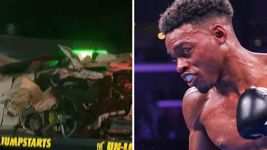 VIDEO: Errol Spence Jr stable after horrific car crash, expected to make full recovery - Spence