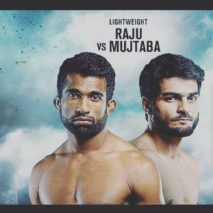 Rahul K Raju flies the flag for India against Pakistan's Ahmed Mujtaba at ONE: Edge of Greatness - Rahul