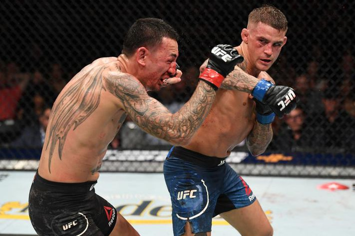 Dustin Poirier says he 'can't make that weight' on challenging Max Holloway at 145 - Poirier