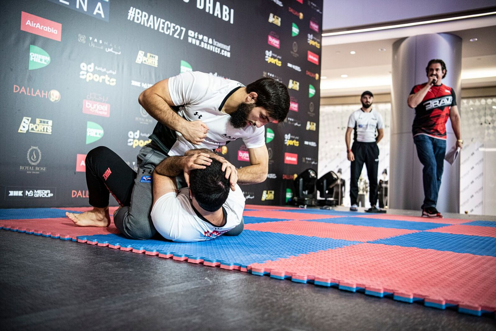 BRAVE CF 27: Charismatic Abdoul steals the show at open workouts - AbuDhabi
