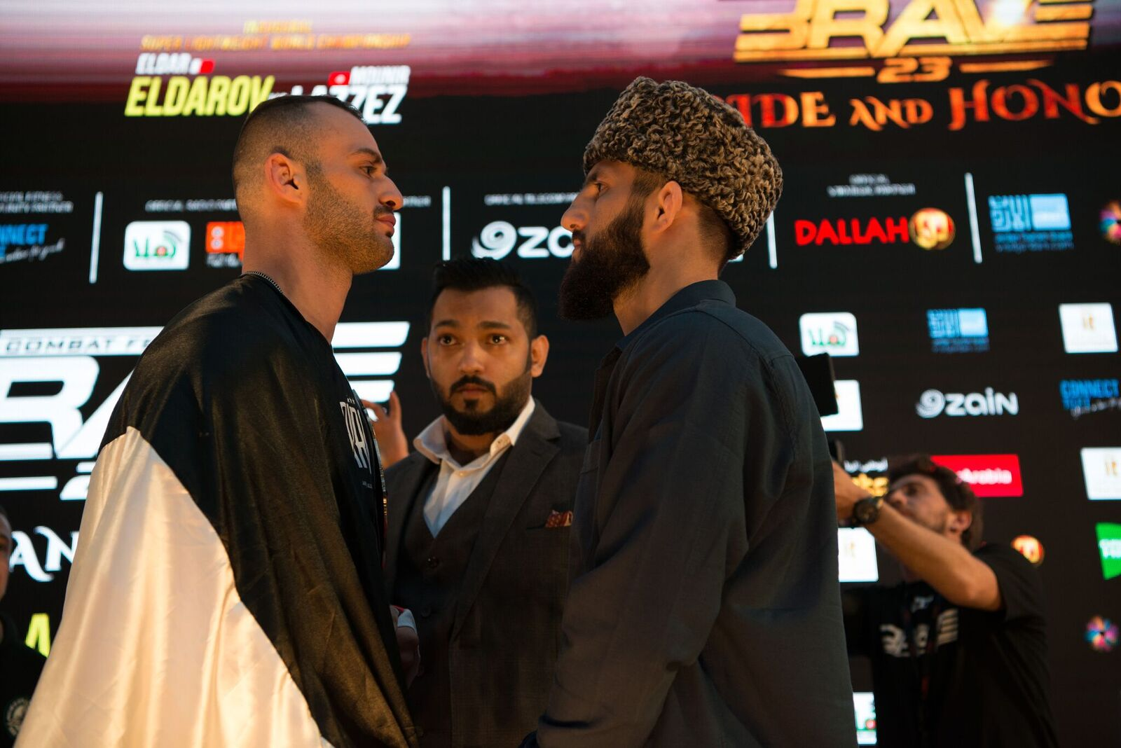 World champ Abdoul doesn't feel extra pressure for title defense at BRAVE CF 27 - BraveFC