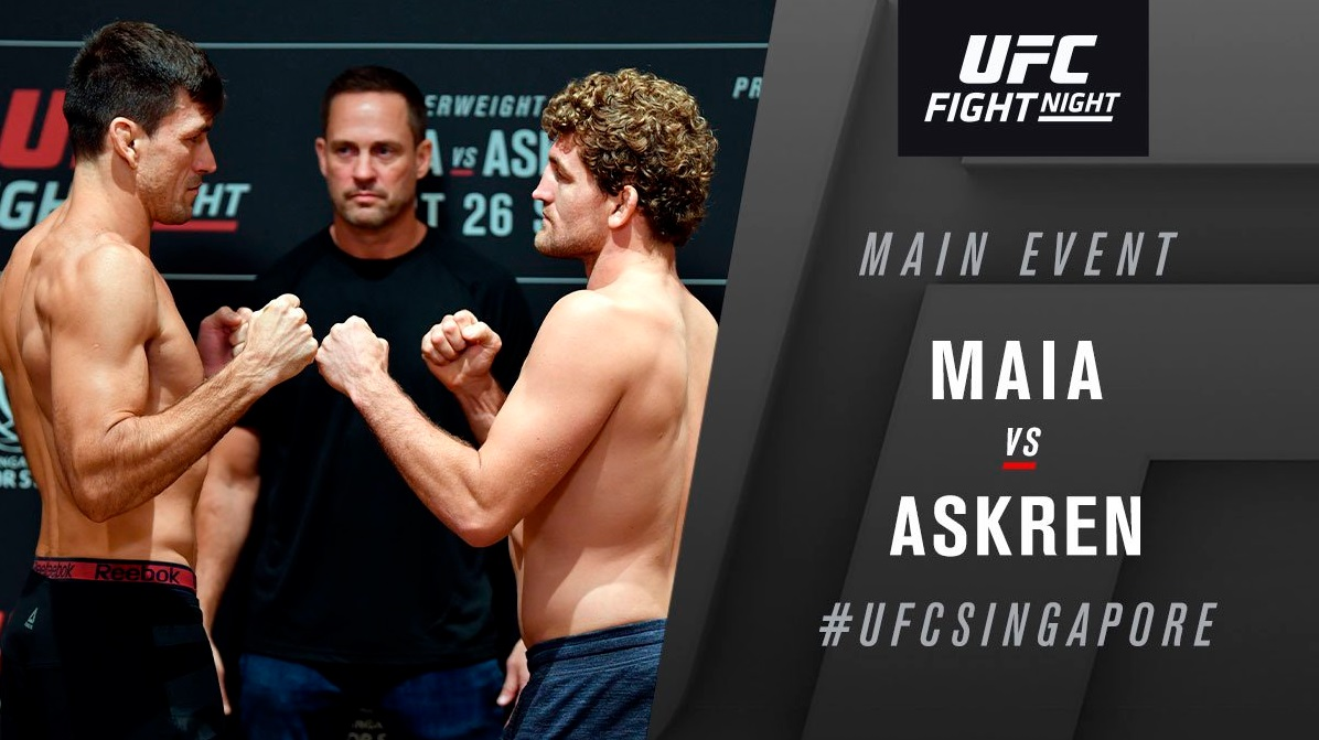 UFC Fight Night 162 'Askren vs. Maia' - Play By Play Updates & LIVE Results -
