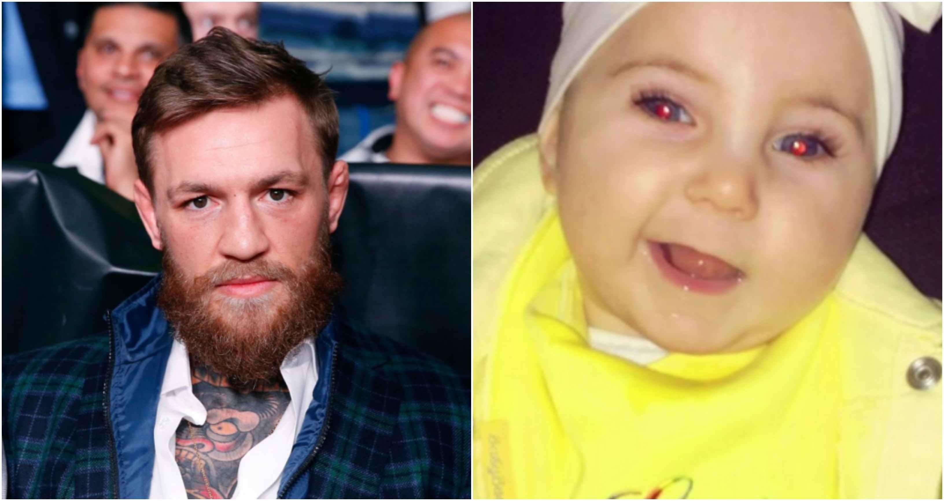 Conor McGregor donates ₹10 Lakhs to help treat Irish baby girl's genetic condition - McGregor