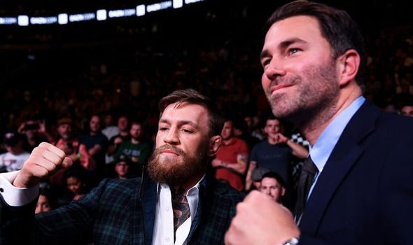 Eddie Hearn on when he fanboy-ed over Conor McGregor and asked for a selfie - Eddie