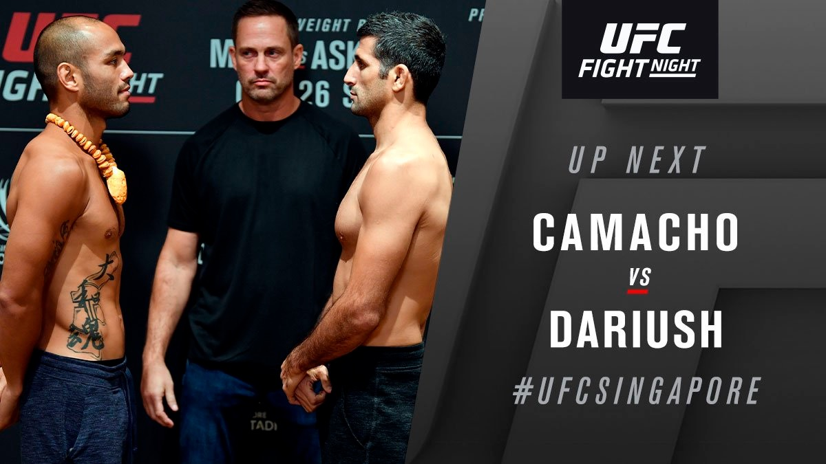 UFC Fight Night 162 Results - Beneil Dariush Submits Frank Camacho in Round 1 -