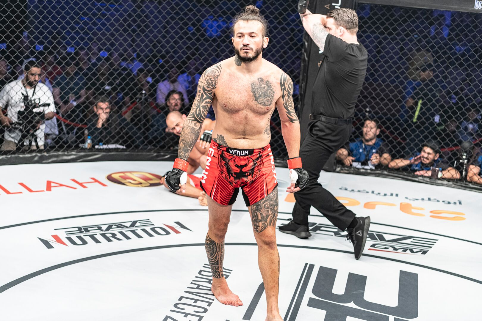 Fresh off devastating win, Fakhreddine wants in on KHK World Championship - BraveFC