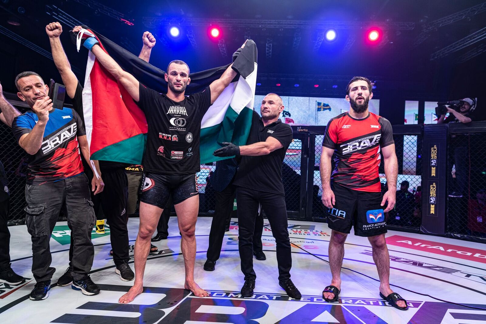 Al-Selawe dominates, avenges loss to arch-rival Abdoul and reclaims BRAVE CF title - Abu-dhabi