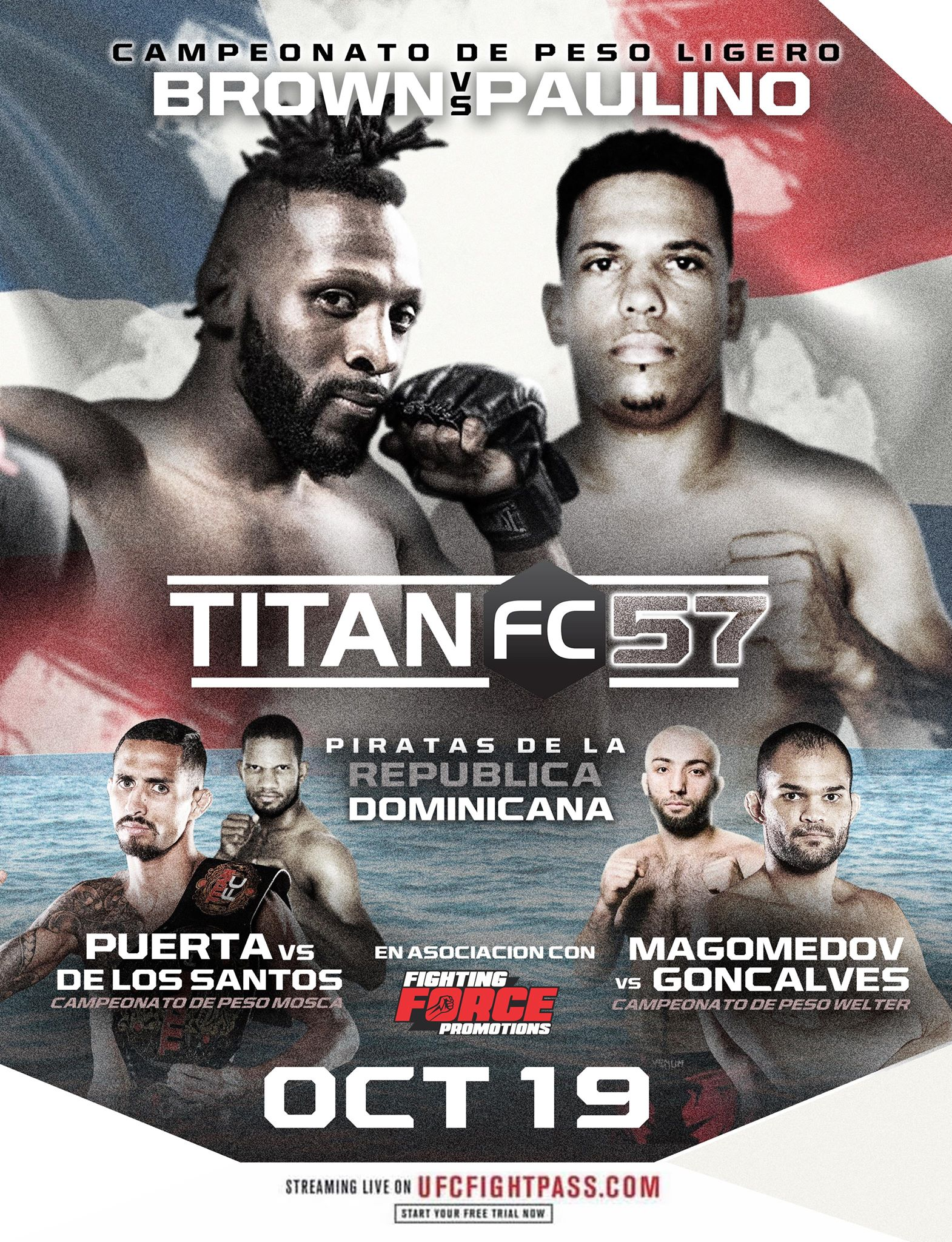 Michael Graves injured, Martin Brown title defense bumped to Titan FC 57 main event - Titan FC