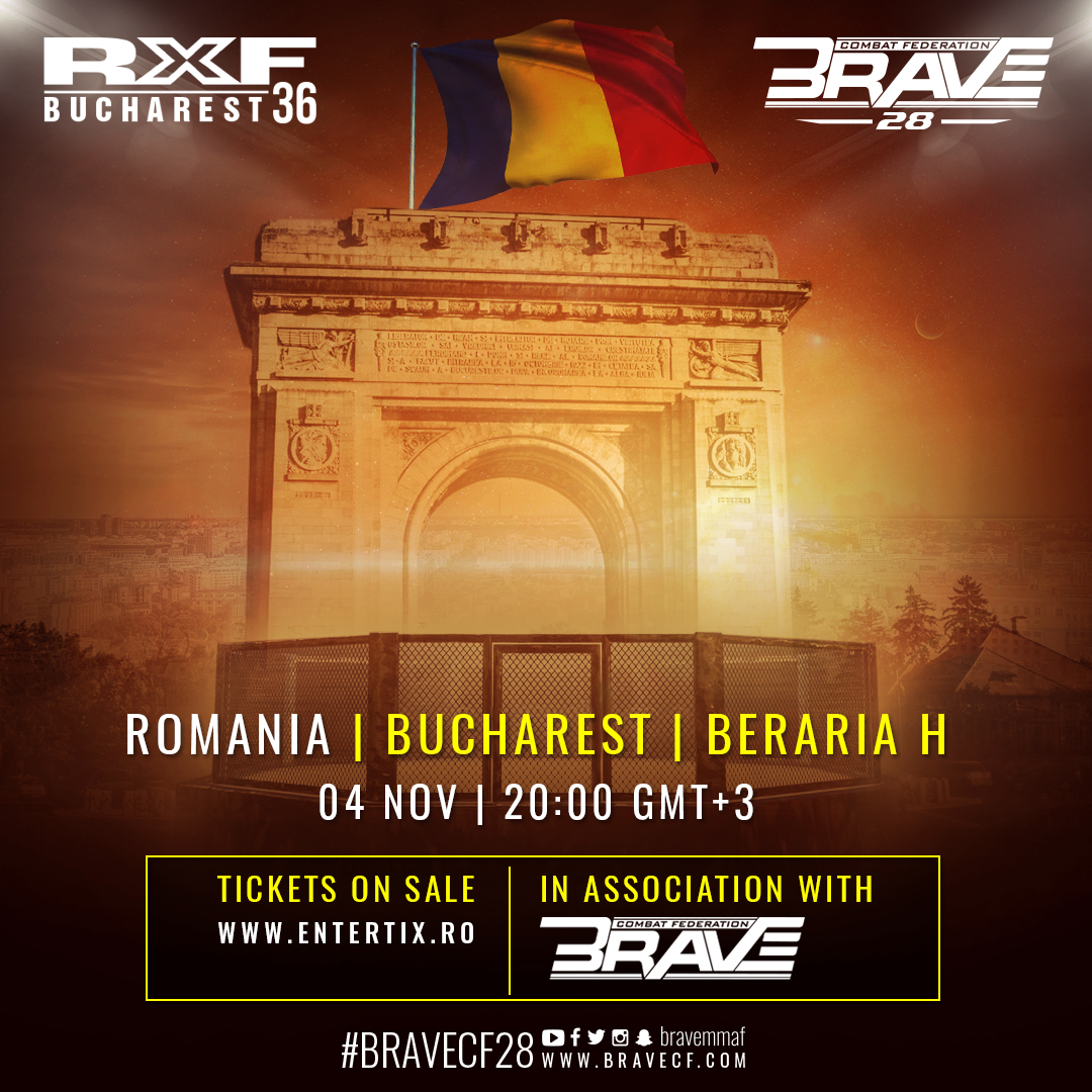 BRAVE CF 28 moves from the Philippines to Romania - BraveFC