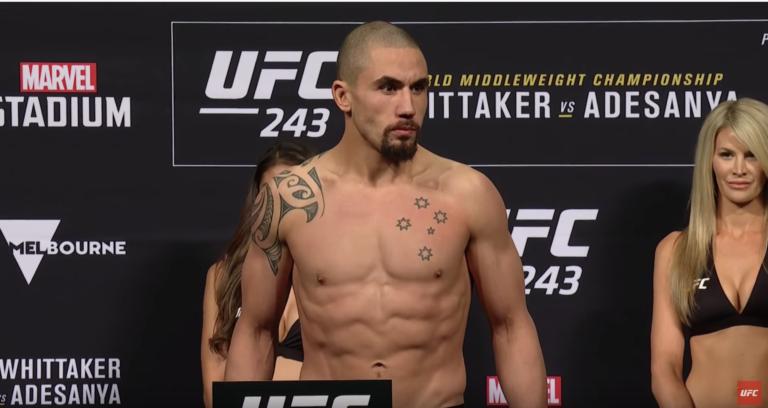 Watch the UFC 243: Whittaker vs. Adesanya