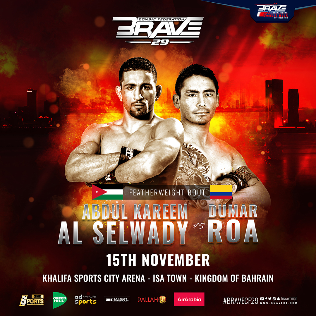 Rising star Al-Selwady eyes history by changing divisions at BRAVE CF 29 - BraveCF29