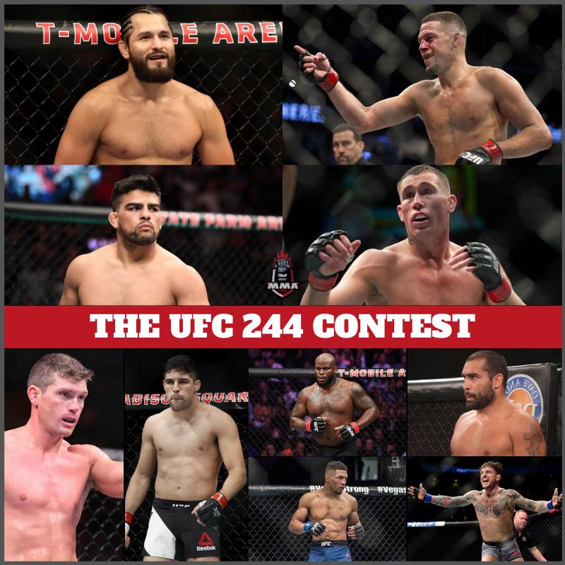 THE UFC 244 CONTEST - UFC 244