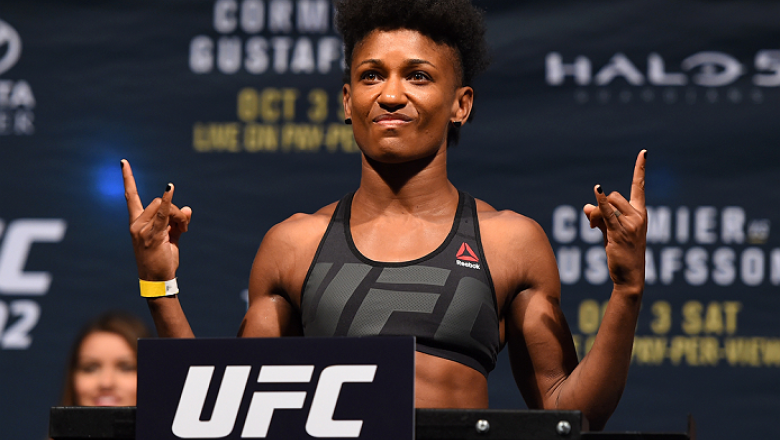 Angela Hill wants to fill in for injured Claudia Gadelha against Cynthia Calvillo - MMA INDIA