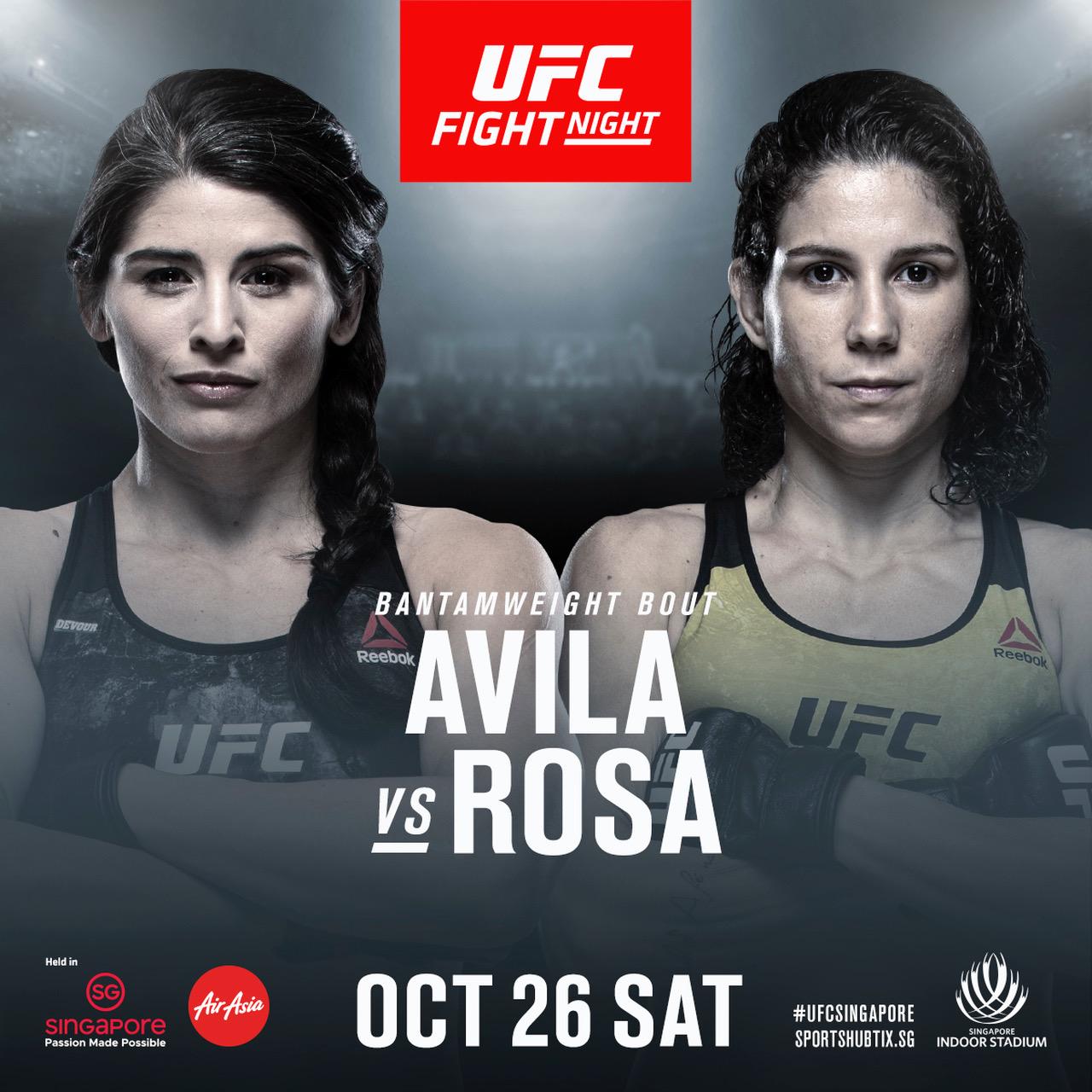 UFC Singapore update: Five more bouts official, including Salikhov vs Staropoli, Barzola vs Evloev - UFC Singapore