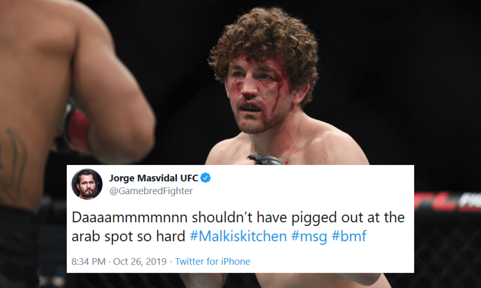 Twitter reacts after Demian Maia chokes Ben Askren unconscious and proves he is the best grappler in the UFC - Askren