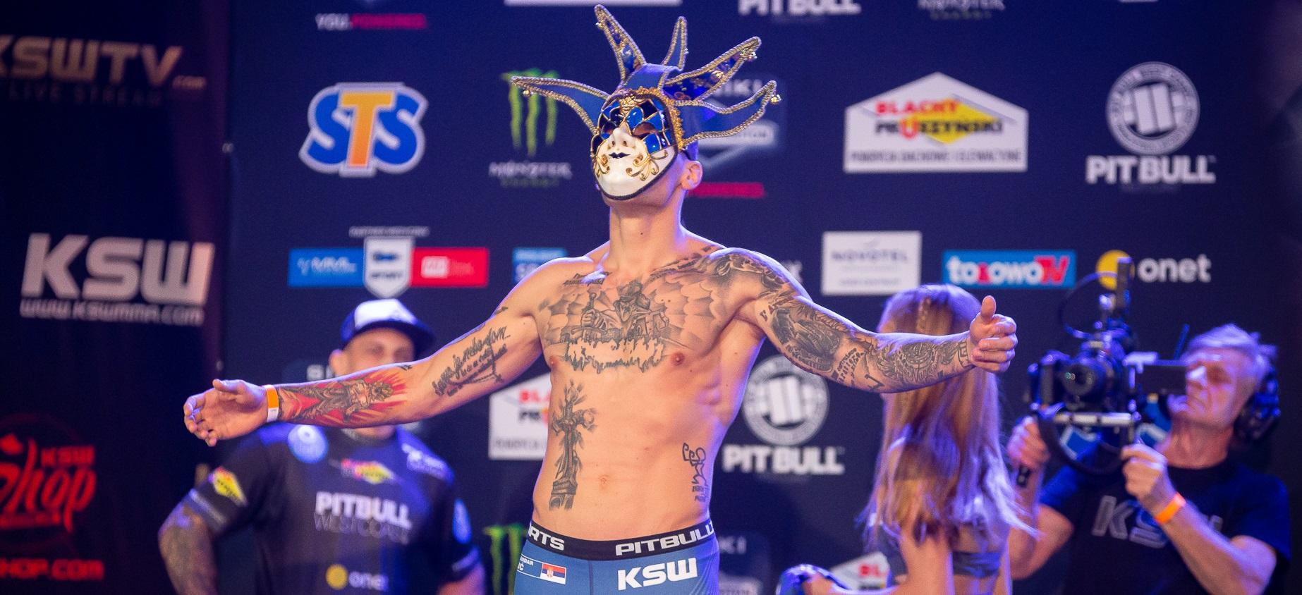 The Joker sets his sights on KSW 51 - MMA