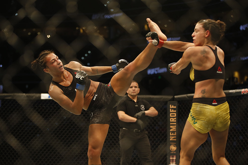 UFC Fight Night 161 Results - Amanda Ribas Hands Mackenzie Dern Her First Loss in a Lopsided Performance -