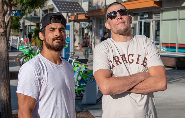 Watch: Kron Gracie explains why he decided to join Nick and Nate Diaz's camp - Gracie