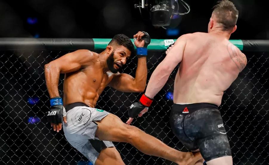 UFC 243 Results - Dhiego Lima's Leg Kicks Get Him the Split Decision Win Over Luke Jumeau -