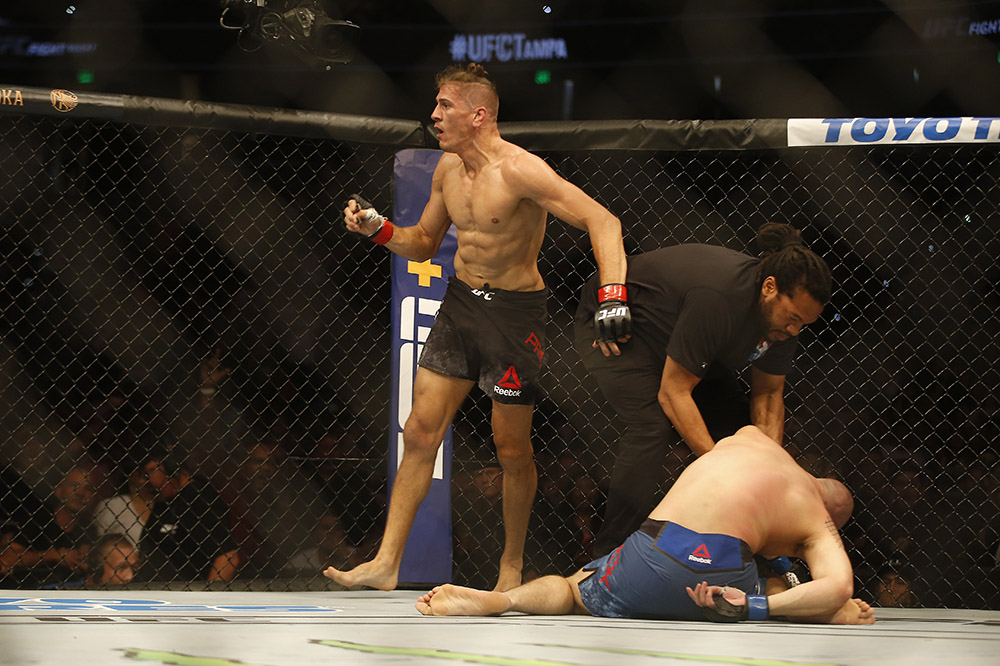 UFC Fight Night 161 Results - Niko Price Knocksout James Vick in the First Round -