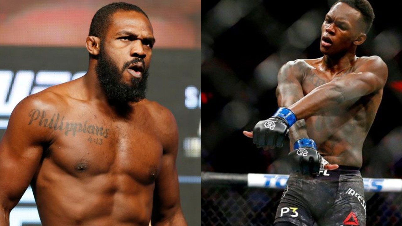 Jon Jones and Israel Adesanya exchange further hostilities on Twitter as feud escalates - Jones
