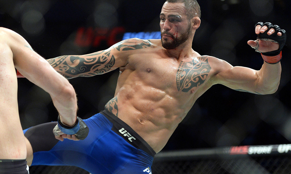 Santiago Ponzinibbio potentially out of UFC 245 bout against Robbie Lawler due to staph infection - Ponzinibbio