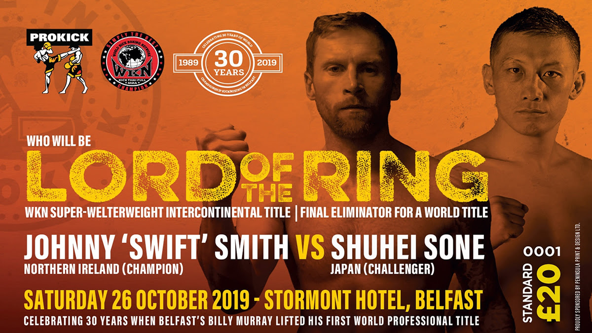 PROKICK Lord of the Ring this Saturday in Belfast - Lord of the Ring