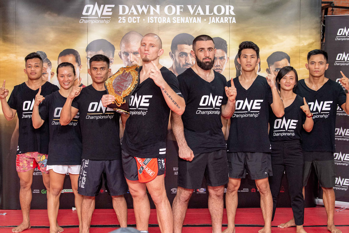 ONE: DAWN OF VALOR OFFICIAL OPEN WORKOUT PHOTOS AND QUOTES - ONE Championship