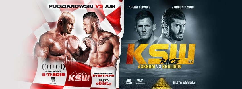 KSW 51 Trailers: Pudzianowski vs. Erko Jun & Racic vs. Stasiak - KSWMMA
