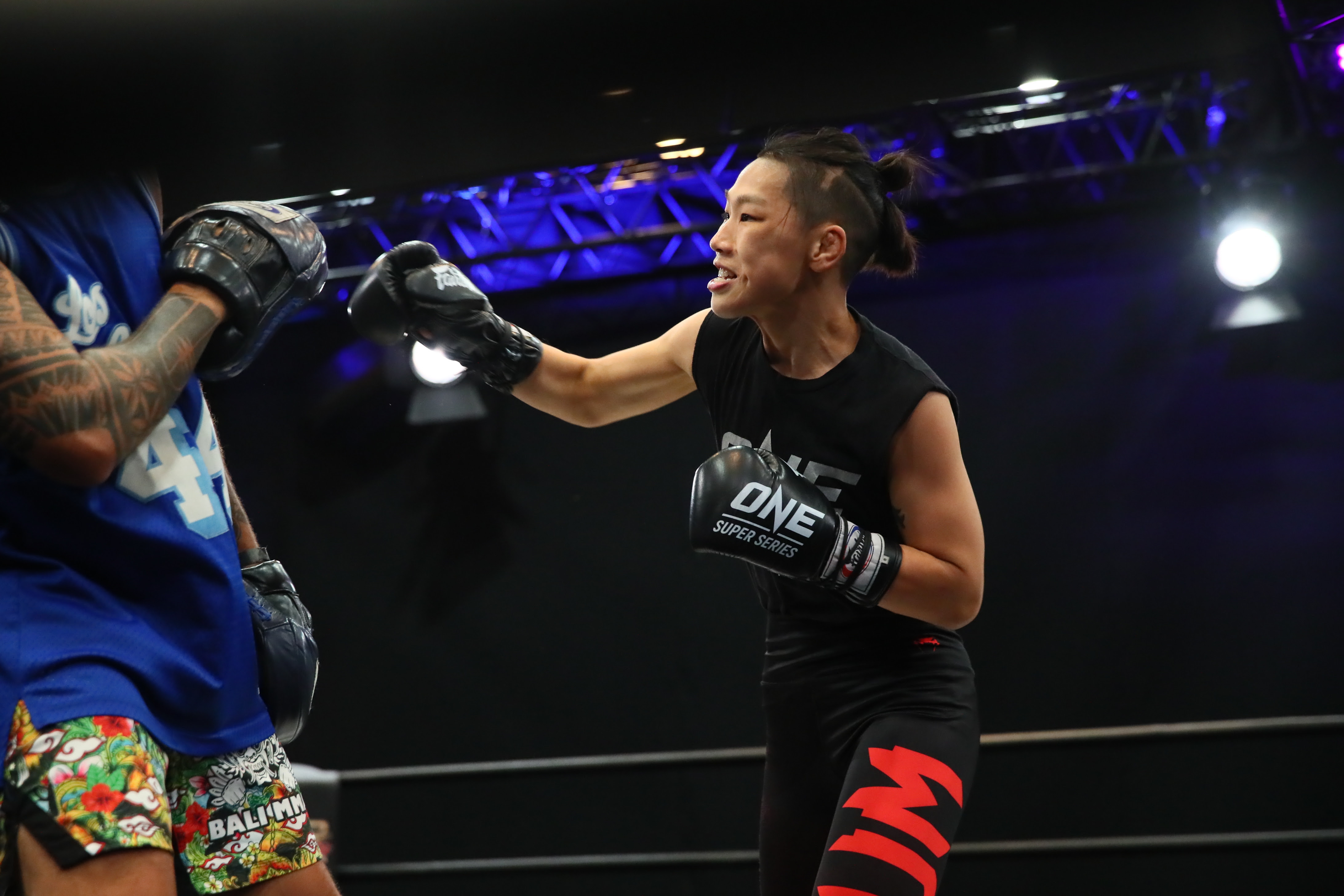 ONE CHAMPIONSHIP ATHLETES SHOWCASE SKILLS AT ONE MARTIAL ARTS FAN FEST OPEN WORKOUT - ONE Championship