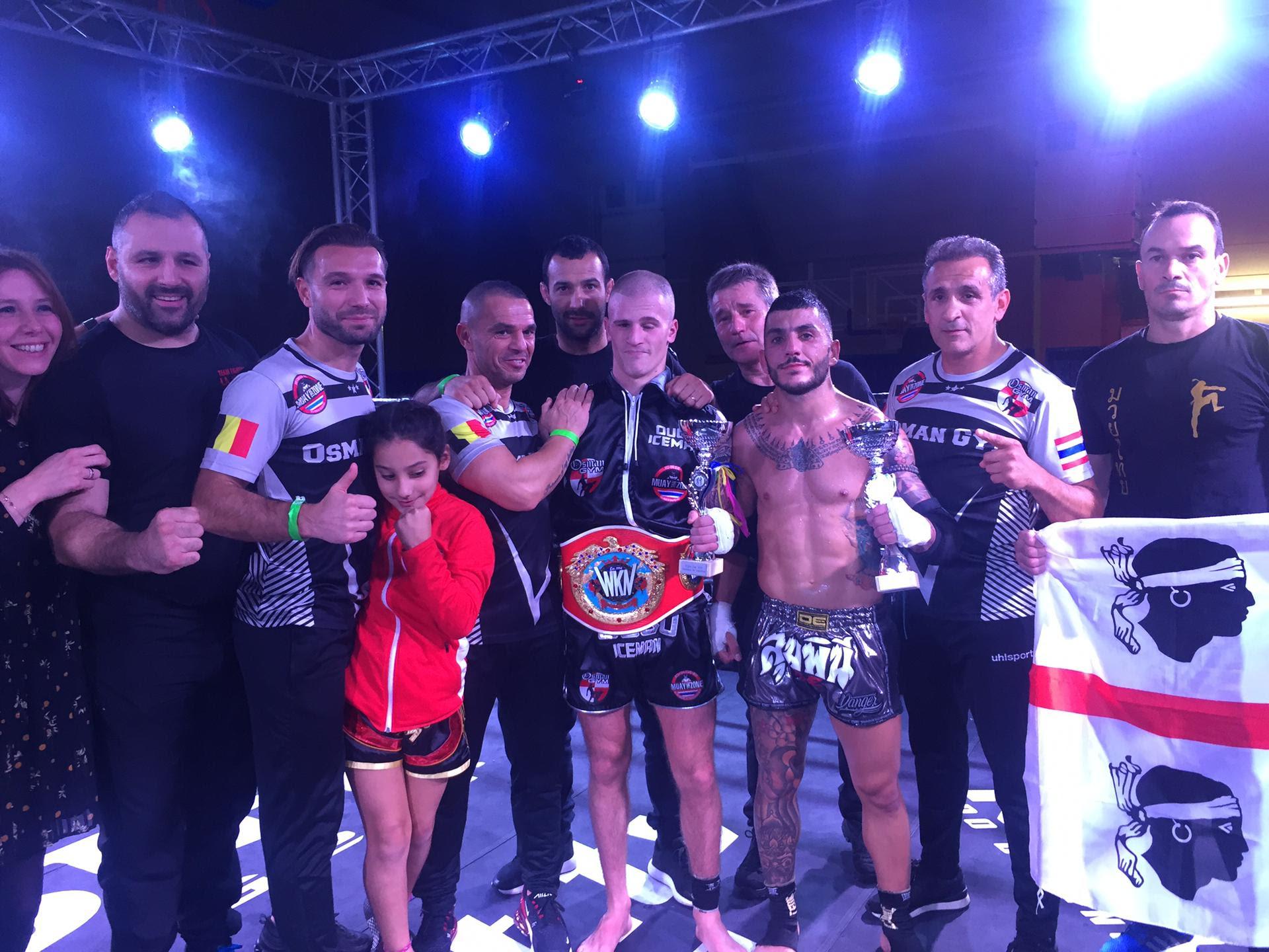Ougo Huet earns WKN European Featherweight title in Muay Thai - World Kickboxing