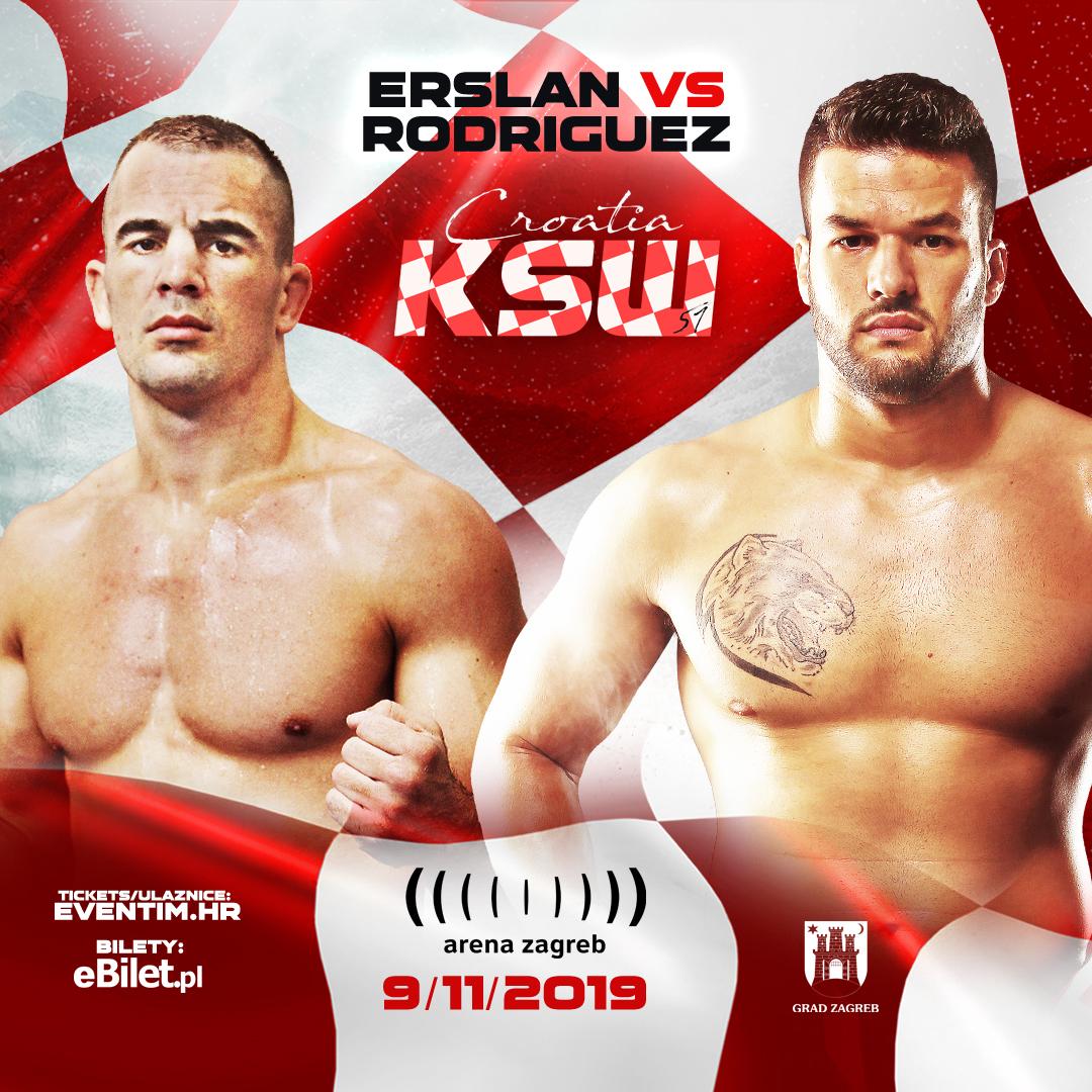 Ivan Erslan vs. Darwin Rodriguez set for KSW 51 - KSW MMA