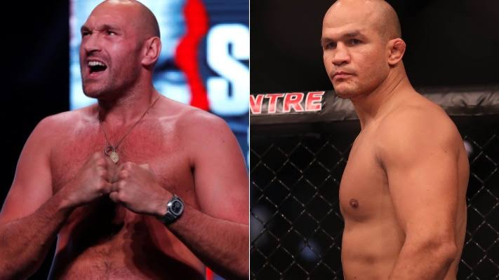 UFC: Junior dos Santos wants to welcome Tyson Fury to MMA, and then rematch him in boxing - Santos