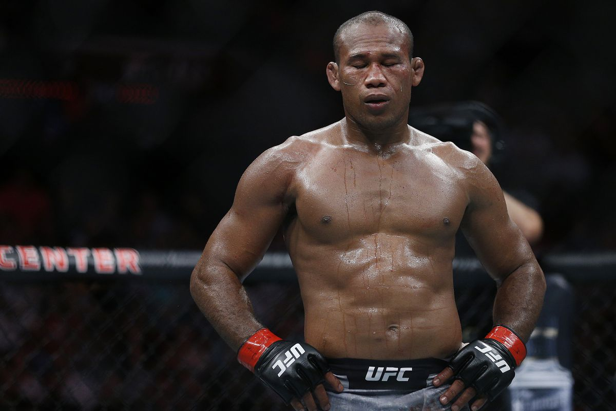 Jacare contemplating MW return following loss to Jan Blachowicz in LHW bow - Jacare