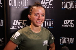 After extensively calling out Paige Vanzant, Maycee Barber booked against Roxanne Modafferi at UFC 246 - Barber