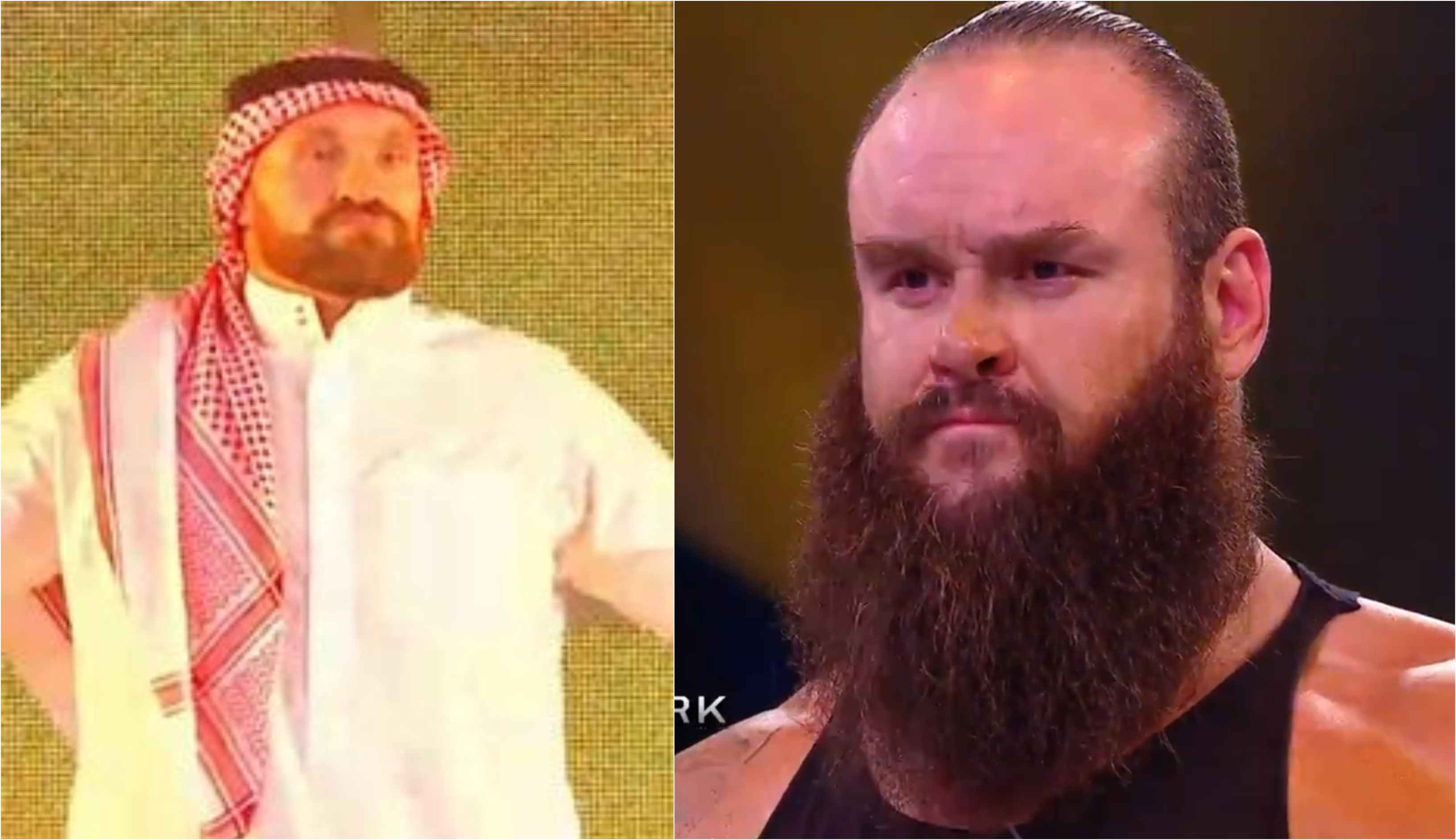 Tyson Fury knocks out Braun Strowman to win his WWE debut -