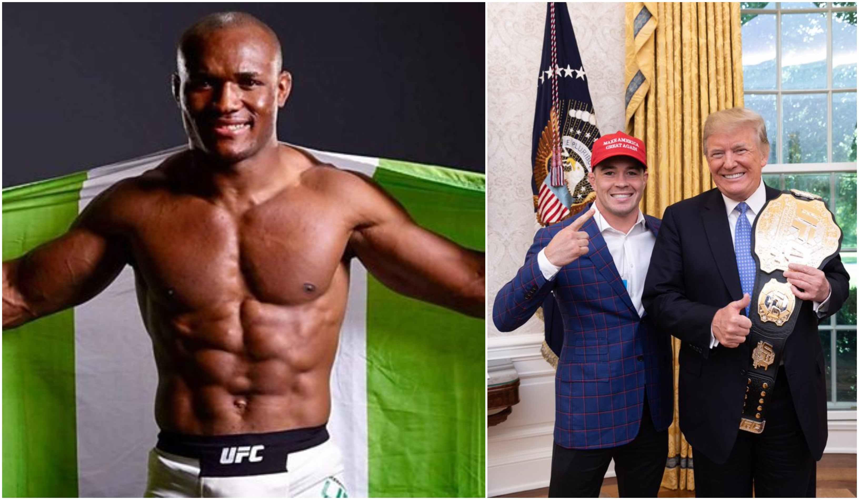Kamaru Usman to Colby Covington: 'I am more American than he is' - Usman