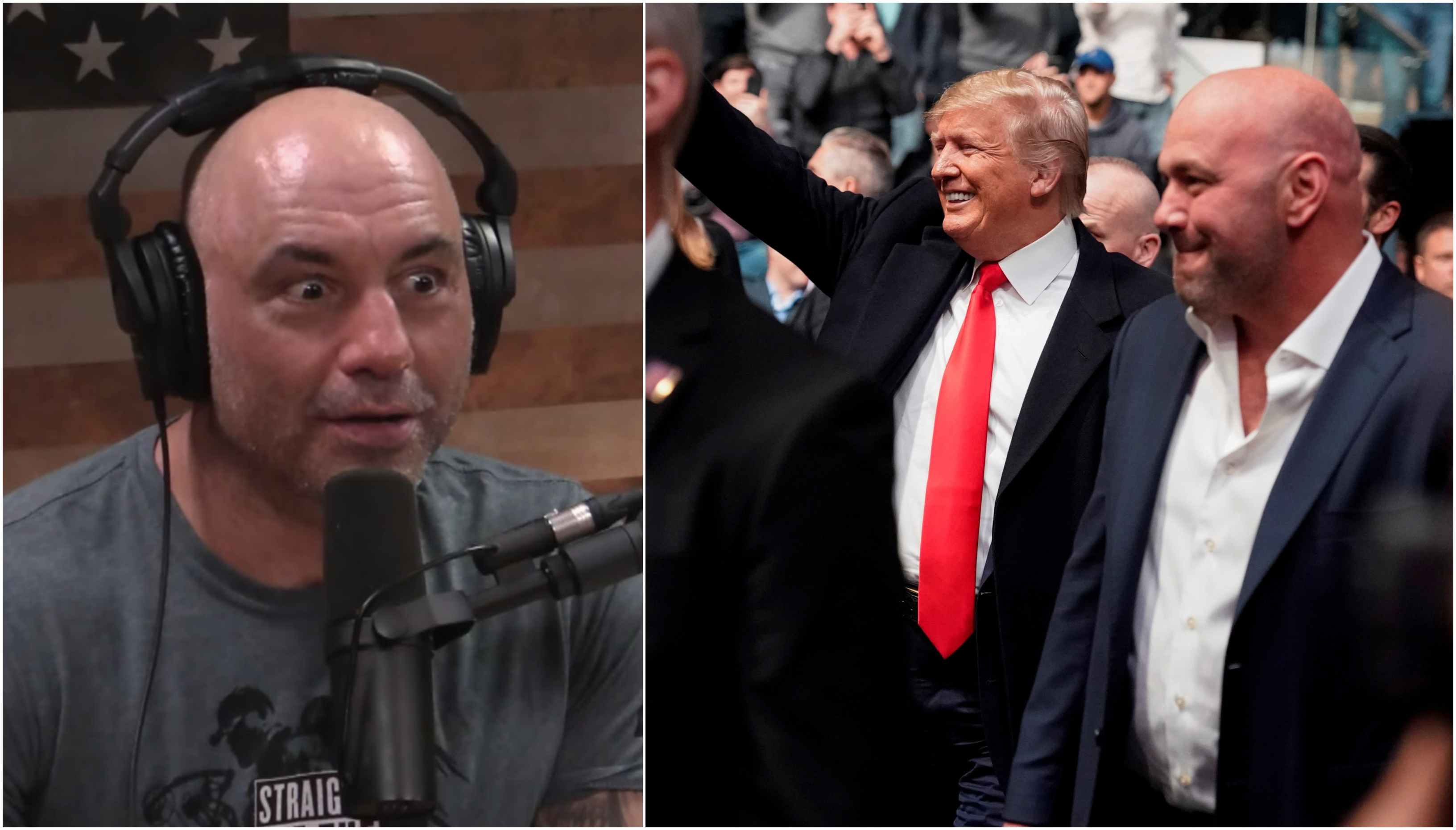 Joe Rogan says Fans 'booed the f**k out of' Donald Trump at UFC 244 - Rogan