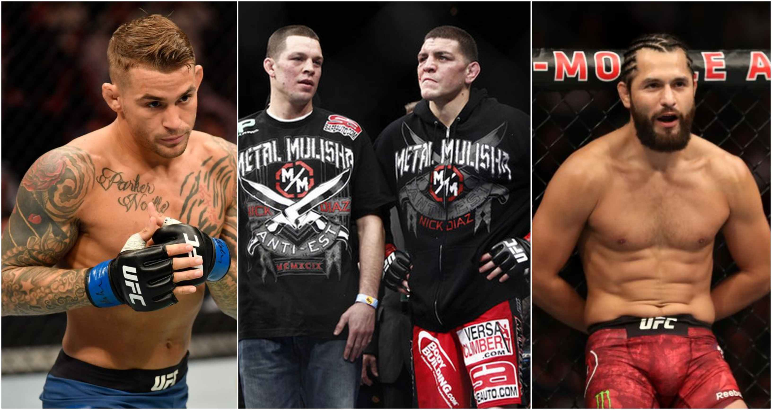 Dustin Poirier calls for tag team fight against the Diaz brothers and Jorge Masvidal 'co signs' it - Poirier