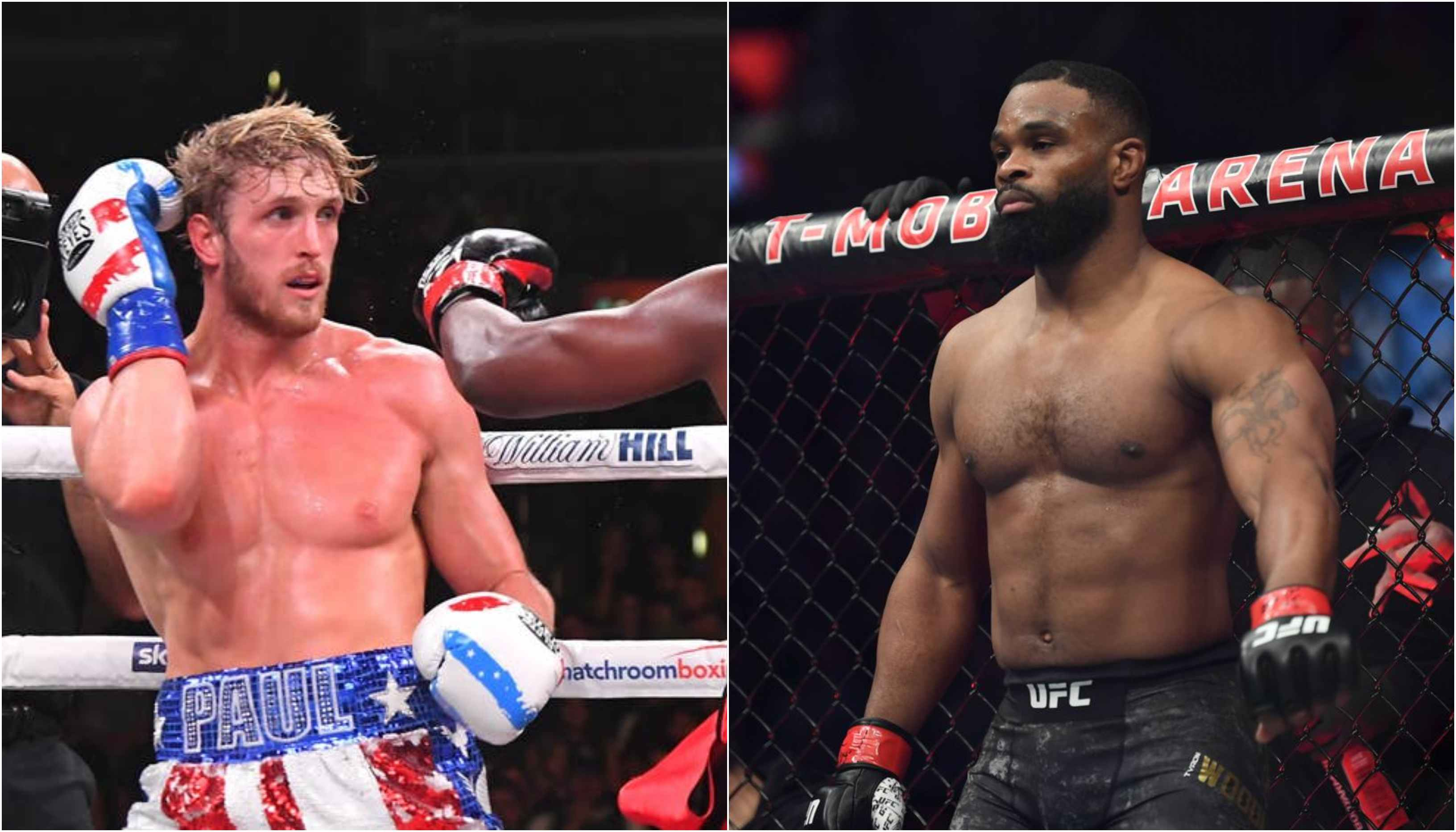 Tyron Woodley is confident that UFC will sign Logan Paul - Woodley