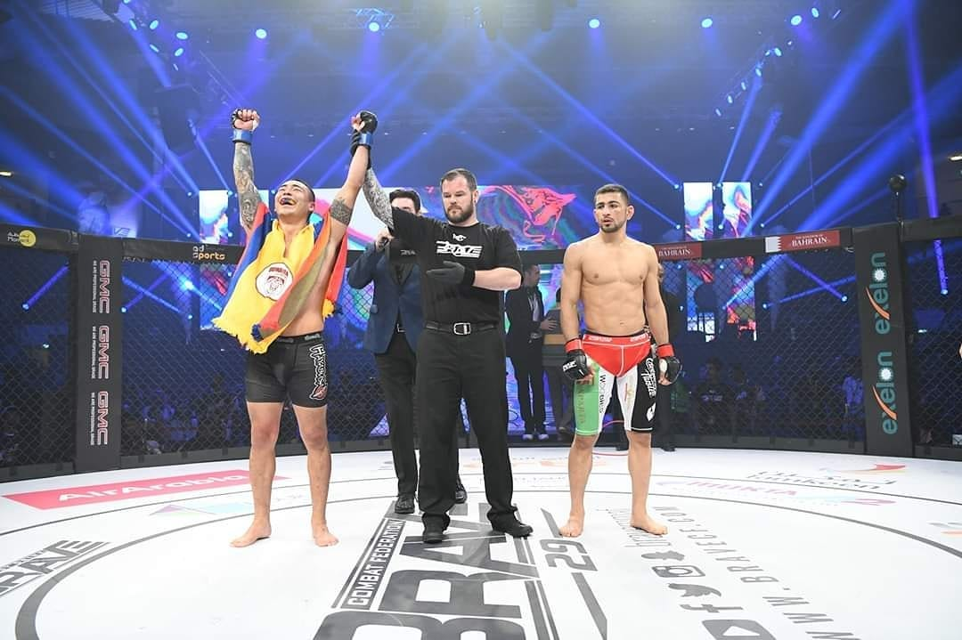 Brave CF 29 Results - Dumar Roa Knocksout Abdul-Kareem Al-Selwady in their Featherweight Clash -