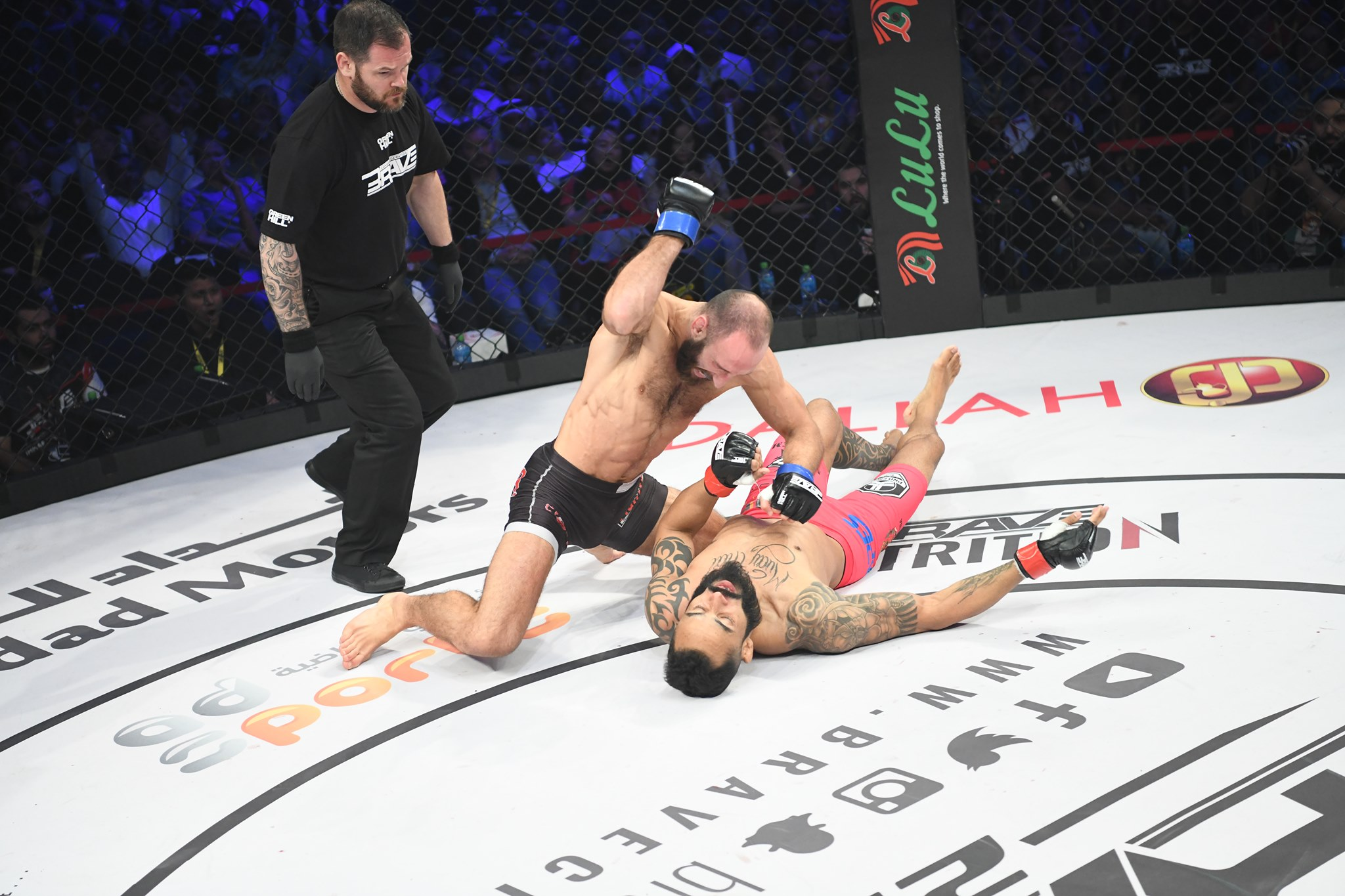 Brave CF 29 Results - Guram Kutateladze Comesback After Being Rocked to Knockout Felipe Silva in Just 44 seconds -
