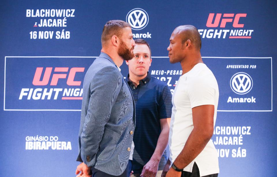 UFC Fight Night 164 'Blachowicz vs. Jacare' Full Card Results -
