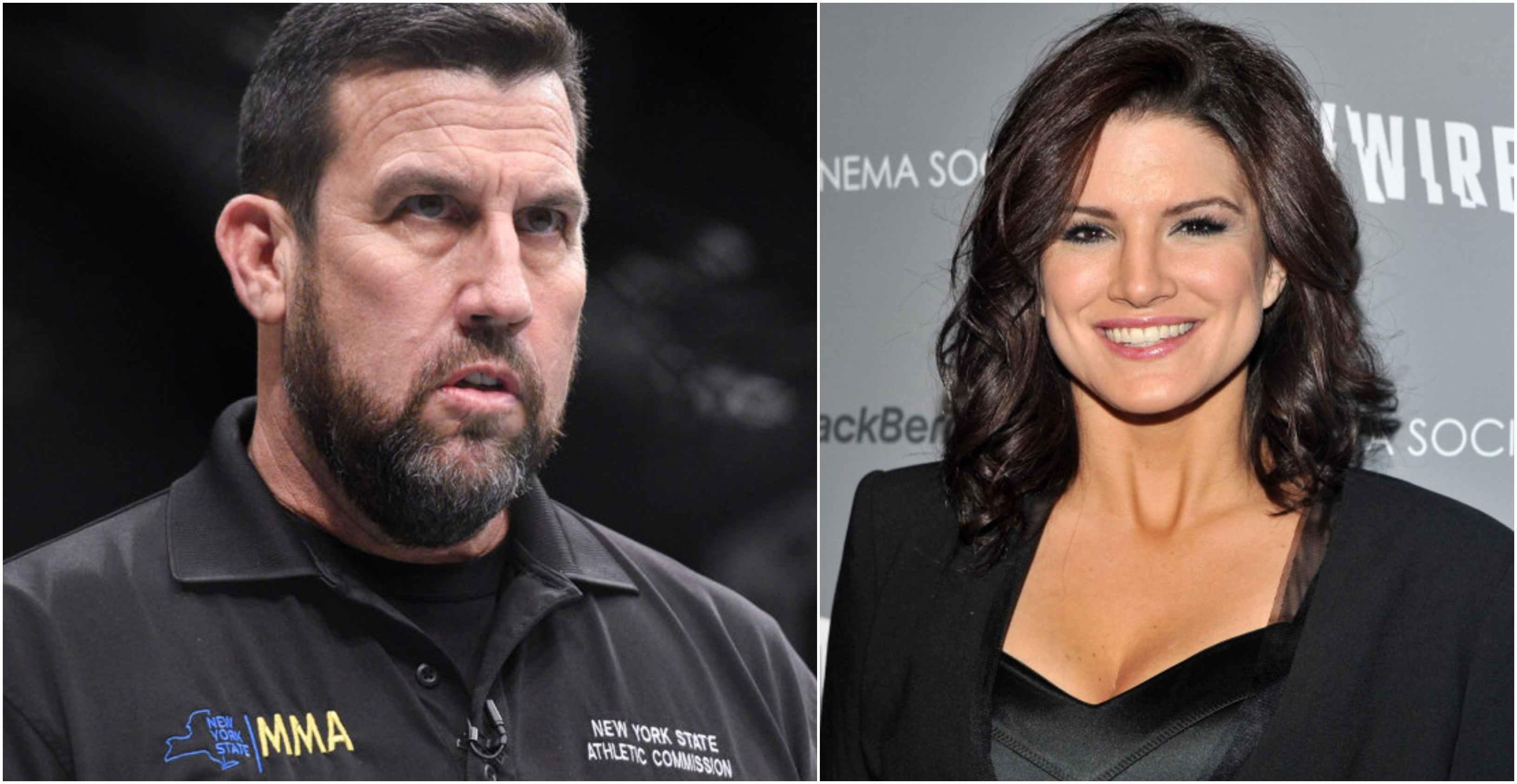 Big John McCarthy defends Gina Carano, says she didn't deserve abuse from Dana White - Gina