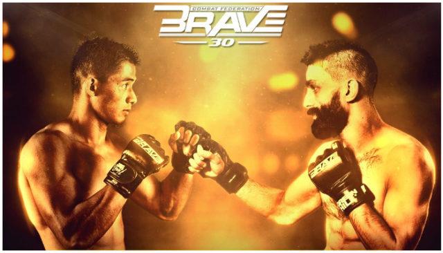 BRAVE CF 30 Results: Stephen Loman Outlasts Louie Sanoudakis for Five Rounds, Retains His Bantamweight Title -