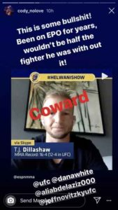 Cody Garbrandt: T.J. Dillashaw wouldn't be half the fighter he was without EPO - Dillashaw