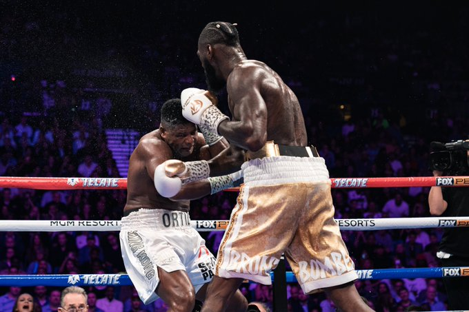 VIDEO: Deontay Wilder brutally knocks out Luis Ortiz in the seventh round to set up Tyson Fury rematch in February - Wilder