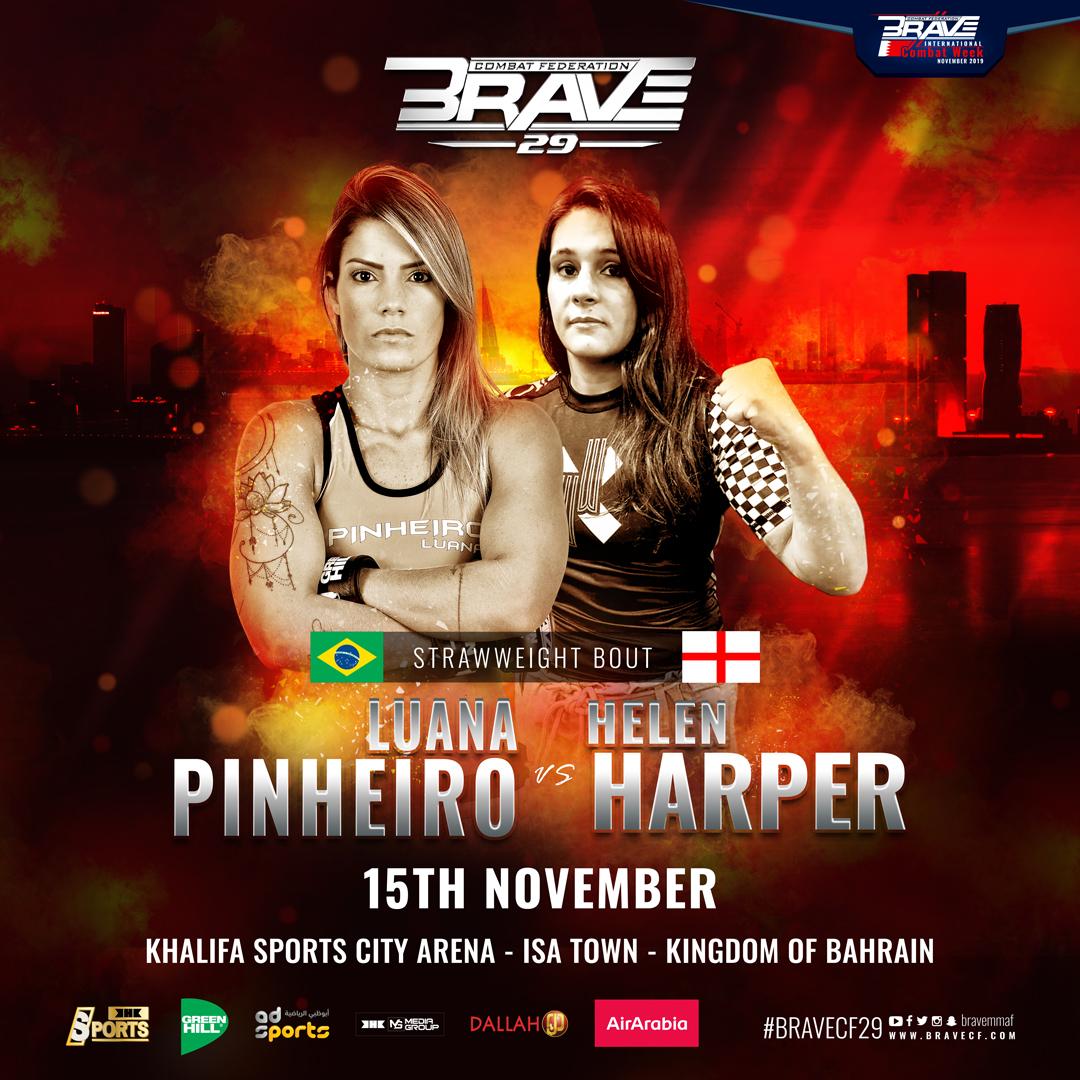 BRAVE CF 29's Helen Harper opens up on how MMA saved her life - BraveFC