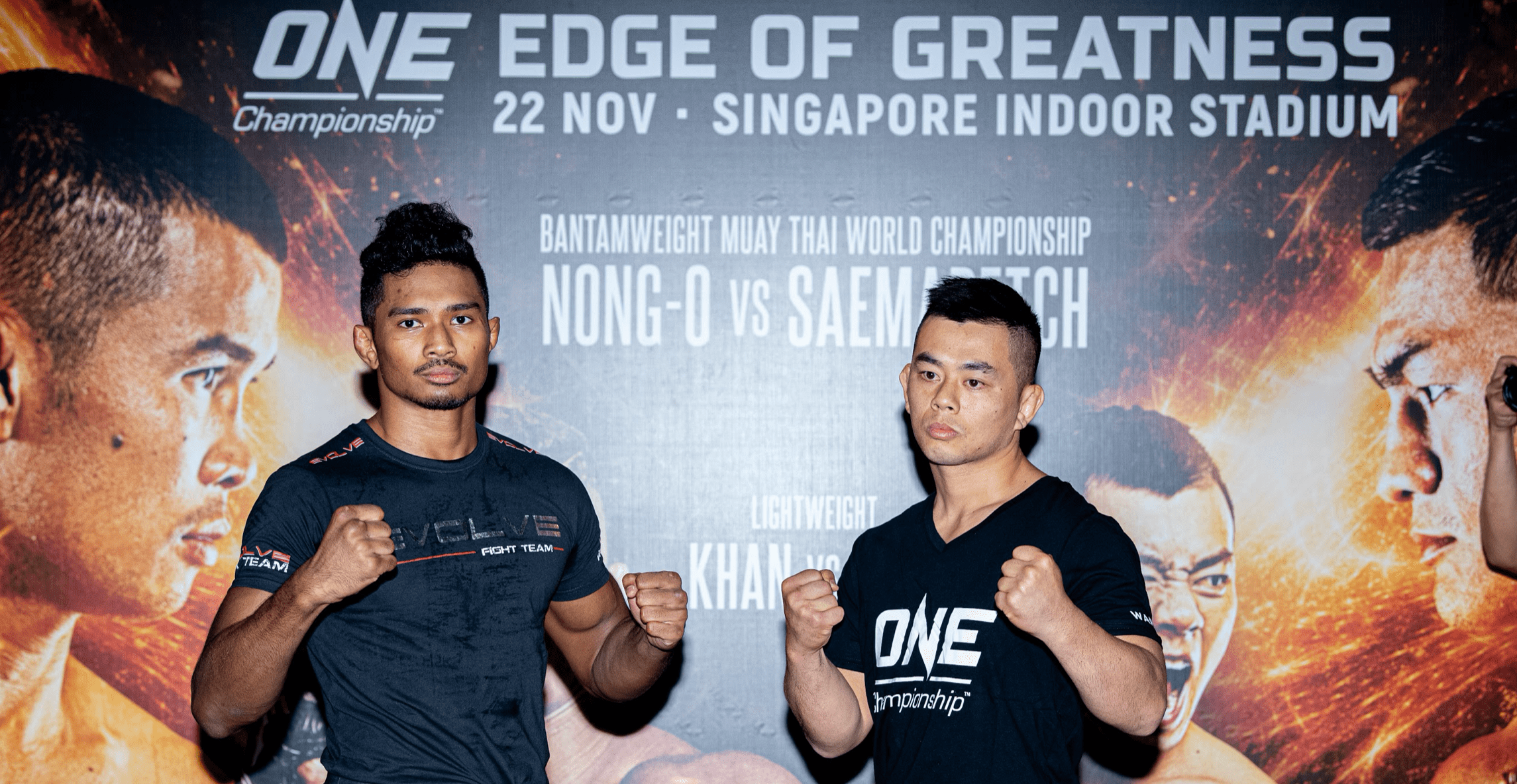 ONE: Edge of Greatness Final Weight and Hydration Results -