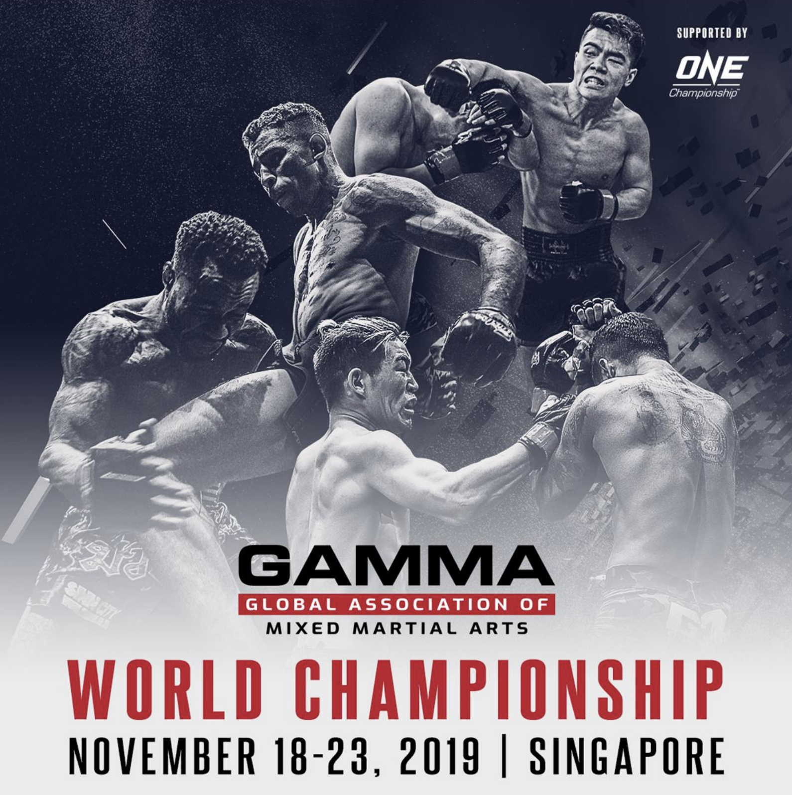 ONE CHAMPIONSHIP AND THE GLOBAL ASSOCIATION OF MIXED MARTIAL ARTS HOST 2019 GAMMA WORLD CHAMPIONSHIP IN SINGAPORE THIS 18-23 NOVEMBER - ONEChampionship
